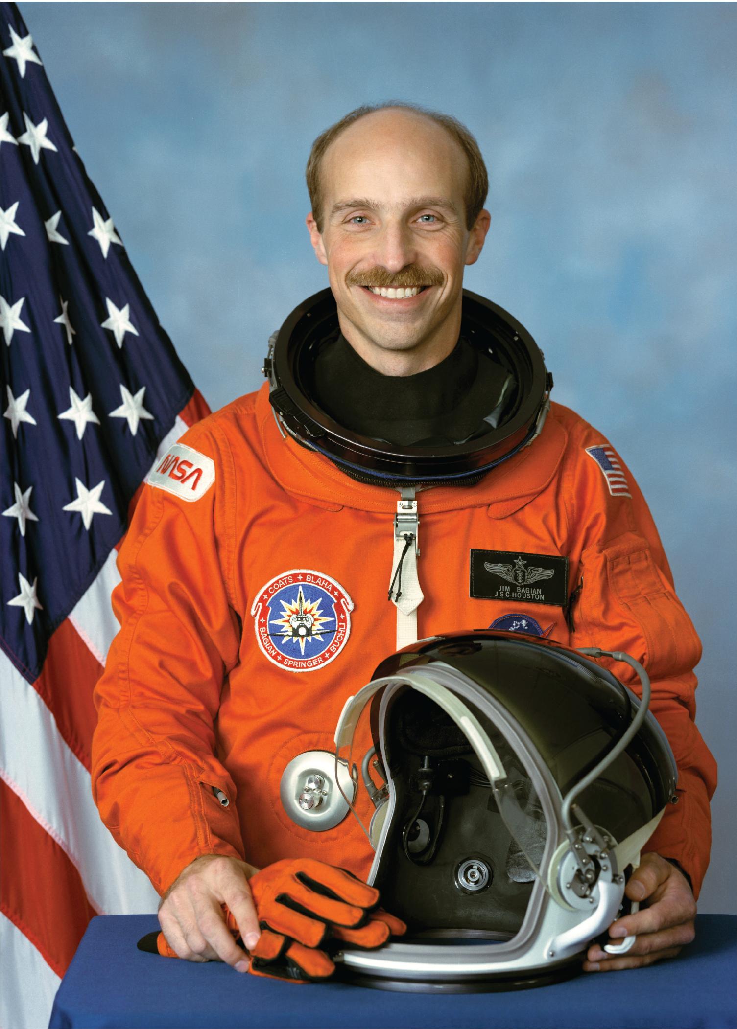 Astronaut James P. Bagian