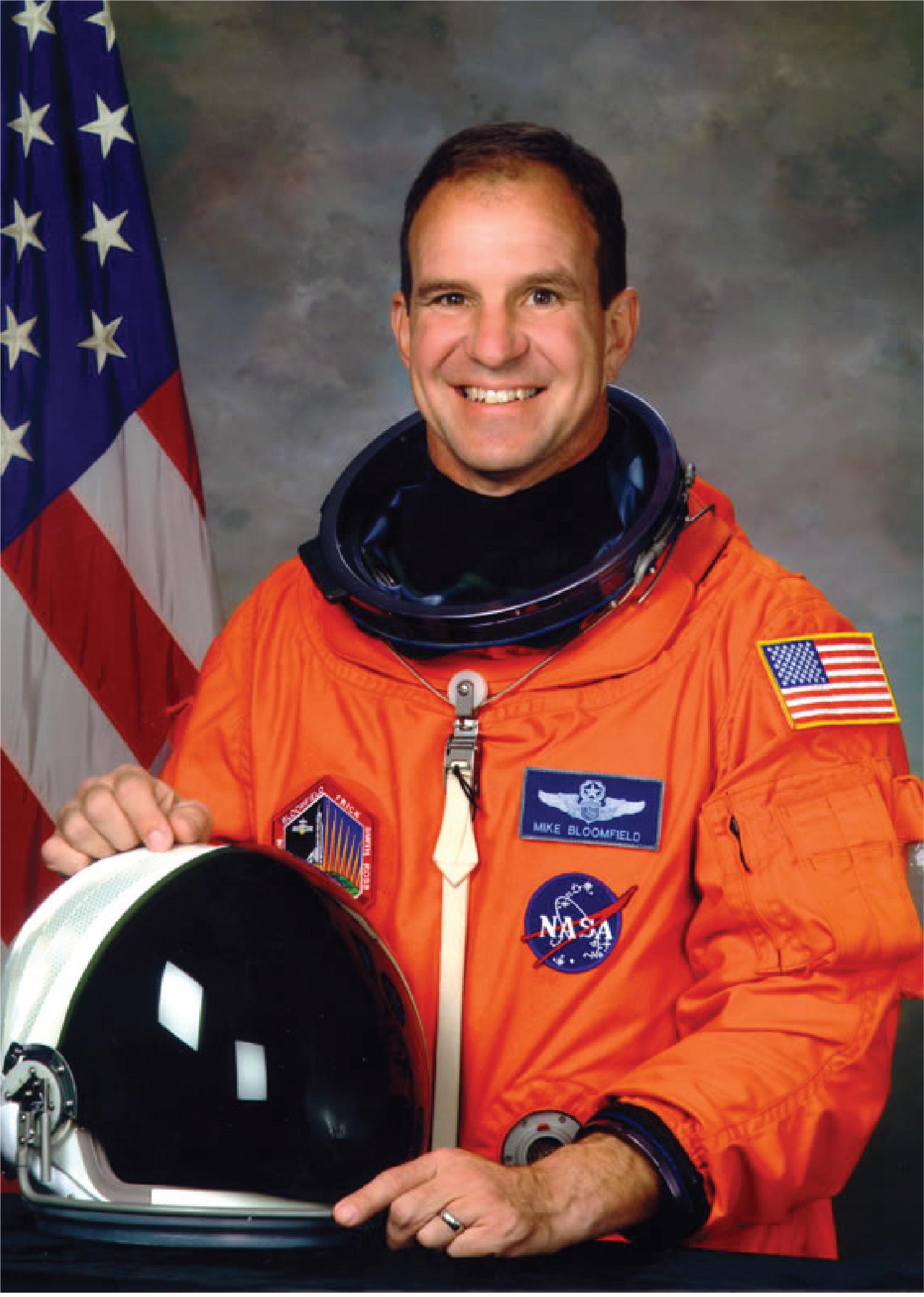 Astronaut Michael J. Bloomfield