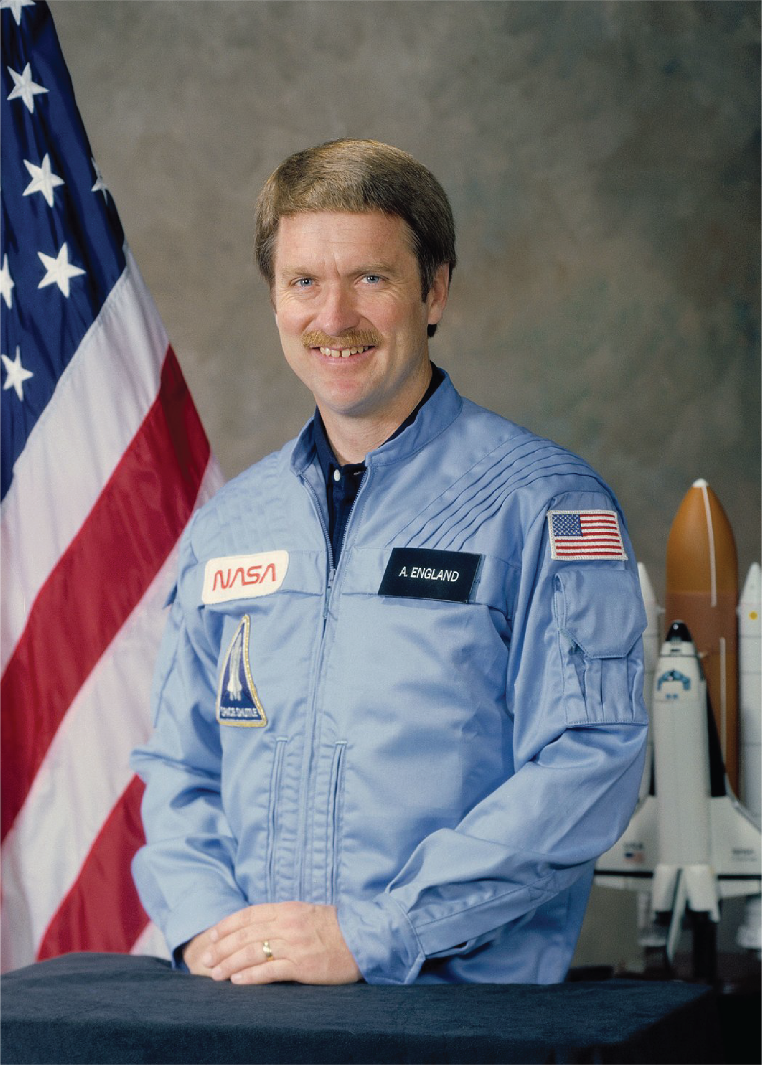 Astronaut Anthony W. England