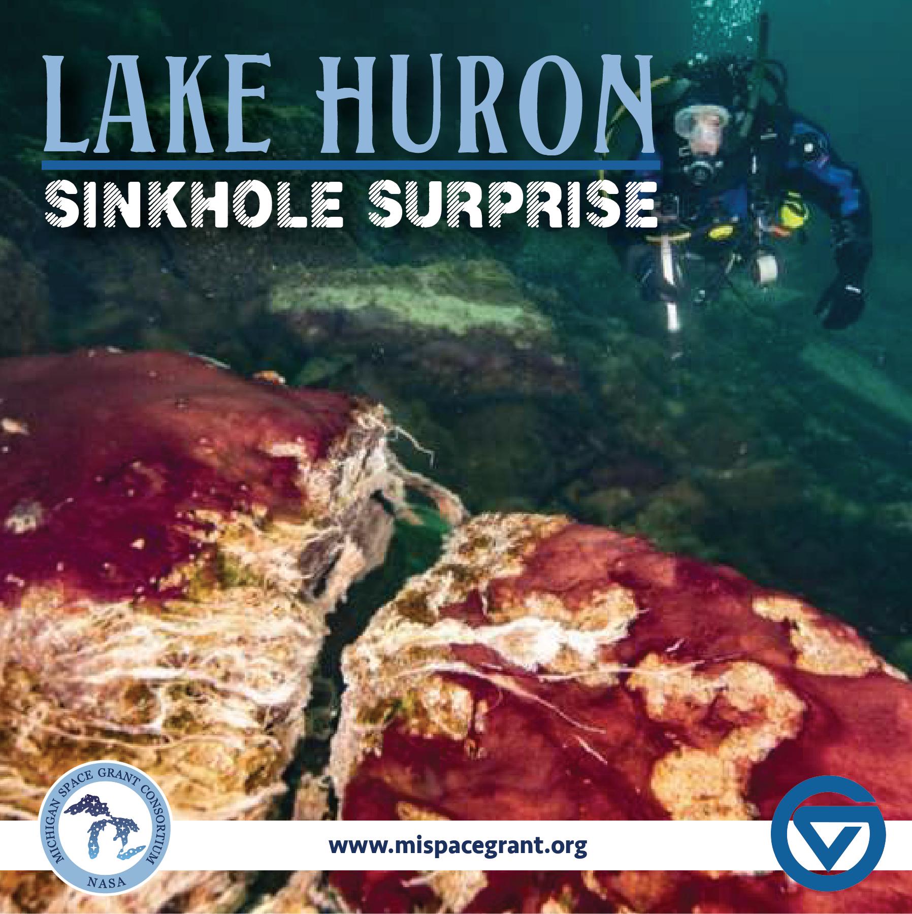 Lake Huron Sinkhole