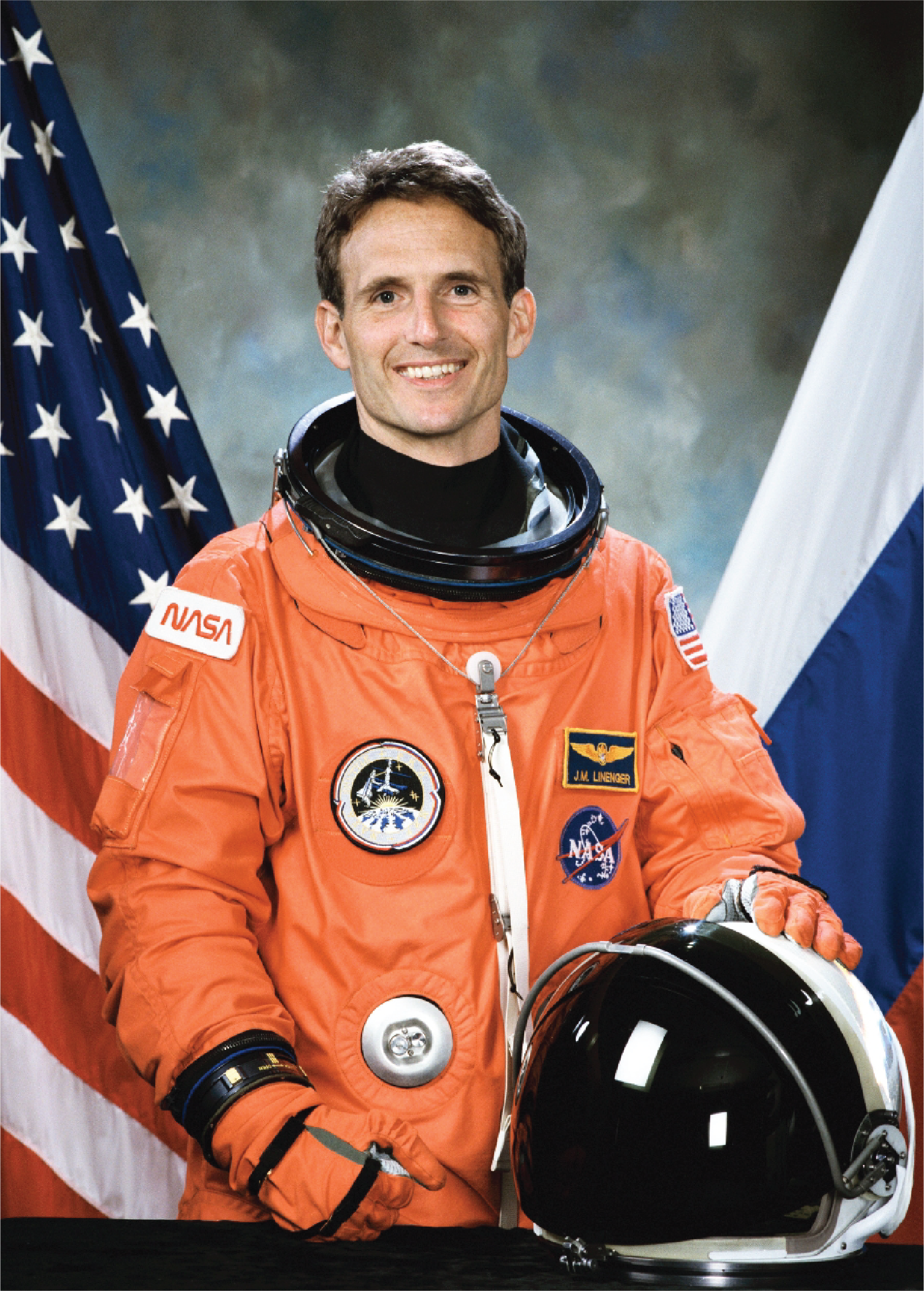 Astronaut J. M. Linenger, M.D.