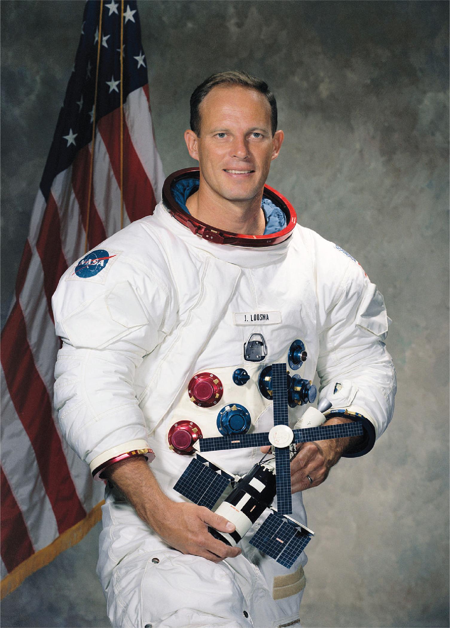Astronaut Jack Robert Lousma (Colonel, USMC, RET.)