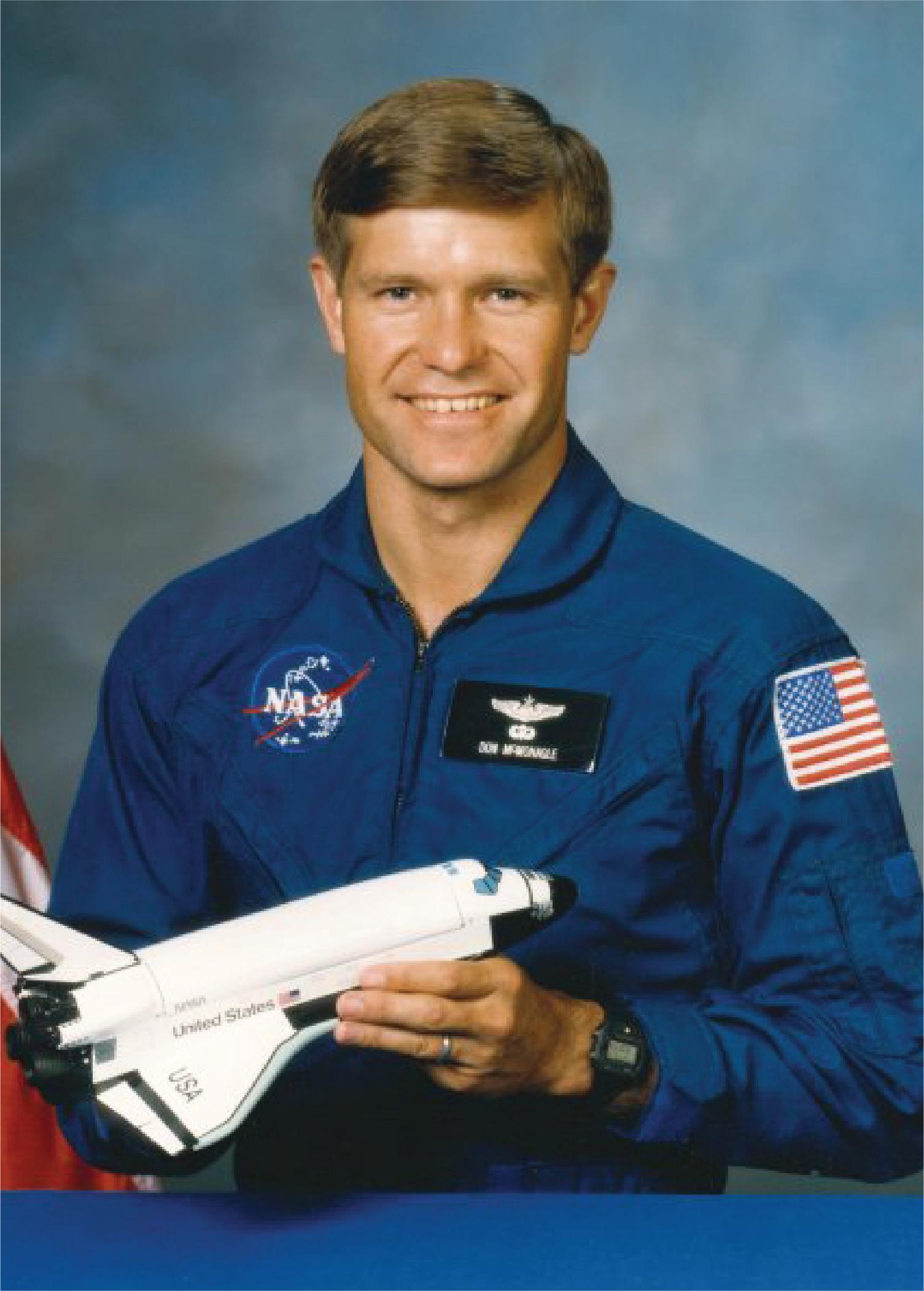 Astronaut Donald R. McMonagle