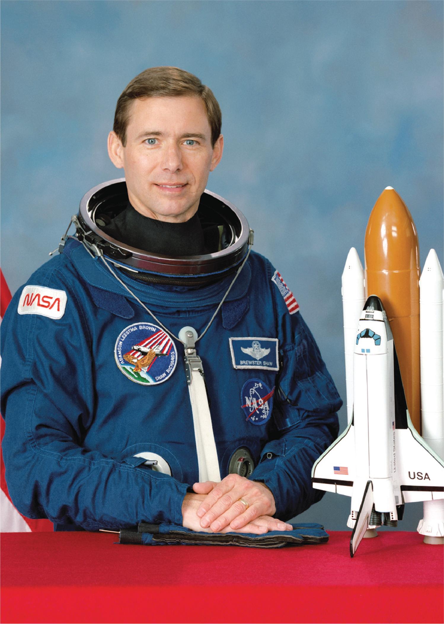 Astronaut Brewster H. Shaw