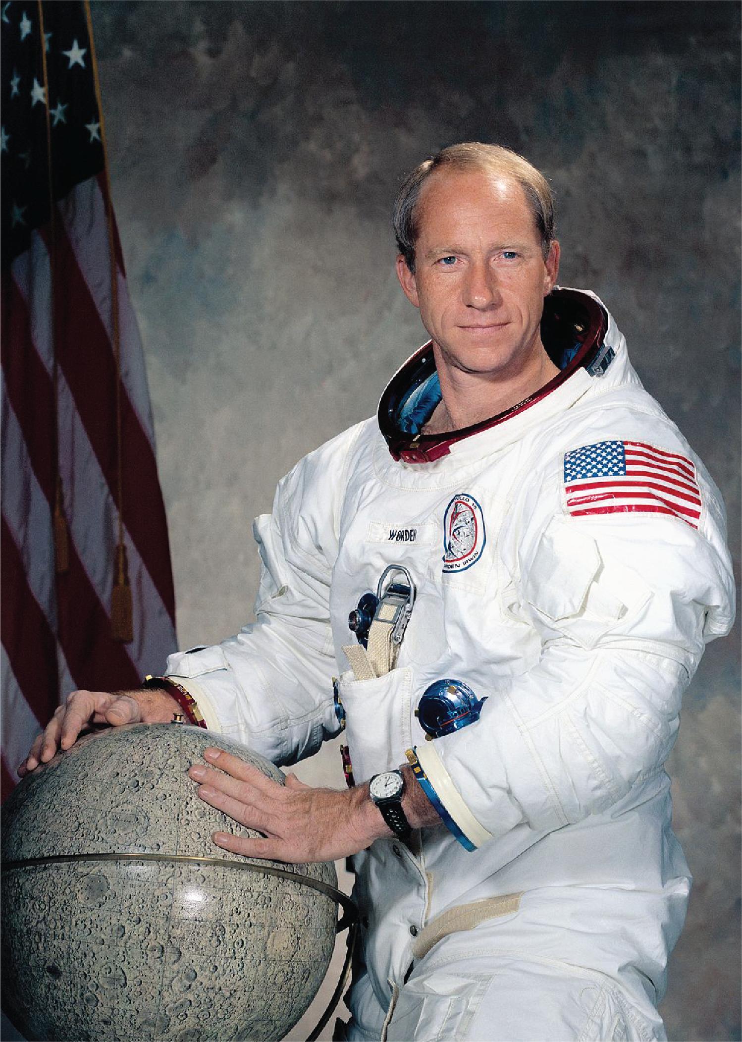 Astronaut Alfred Merrill Worden